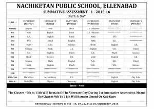 Date Sheet - Nry to 8th & 11th-page-001 (Revised)